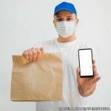 comprar saco de papel kraft delivery personalizado Osasco