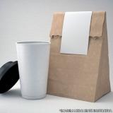 comprar saco de papel para hambúrguer personalizado Serra da Cantareira