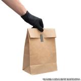 comprar saco de papel para lanche personalizado Embu das Artes