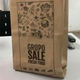 saco de papel kraft personalizado Piqueri